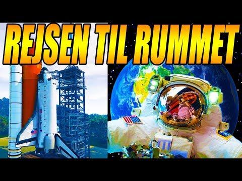 REJSEN TIL RUMMET - REAL LIFE MOD - GTA 5 MODS - [#20]
