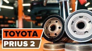 Oliefilter motor installeren TOYOTA PRIUS: videohandleidingen