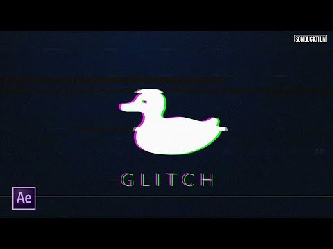 Create Simple RGB Glitch Effect | After Effects Tutorial