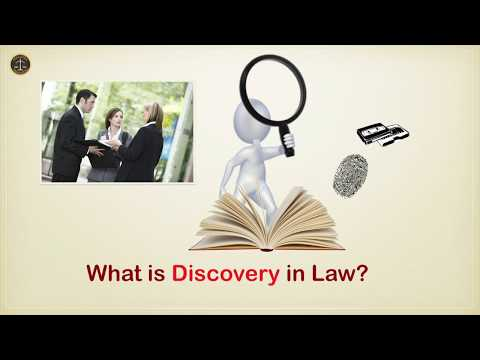 What is Discovery in Law?