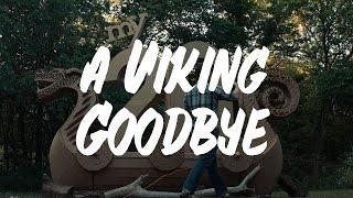 a viking goodbye