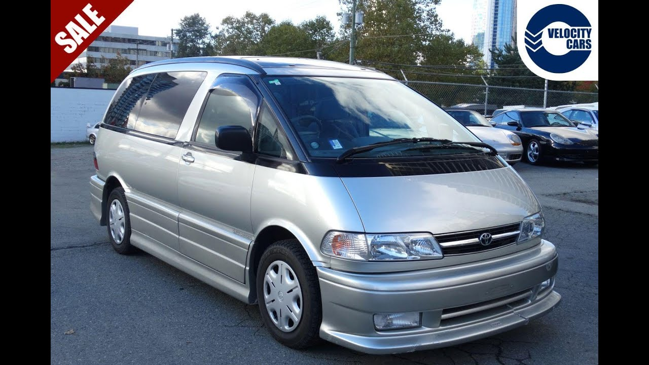 toyota previa estima 4wd for sale in vancouver bc canada. Black Bedroom Furniture Sets. Home Design Ideas
