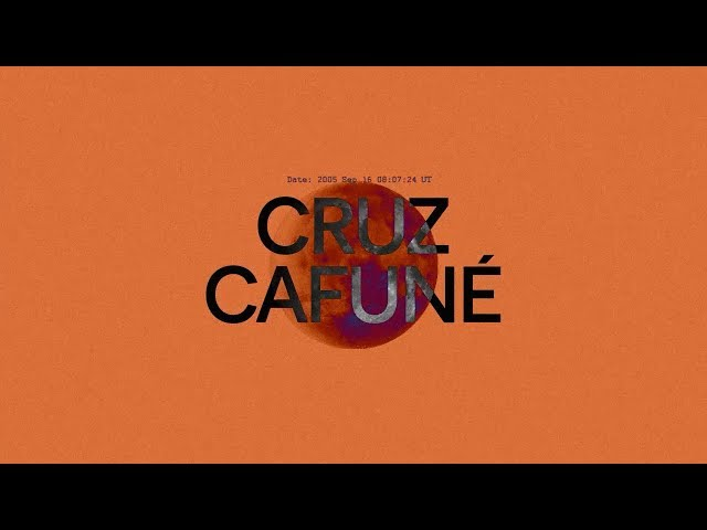 CRUZ CAFUNÉ - OJITOS AGUAOS (Lyric video) [Moonlight922 no. 3]