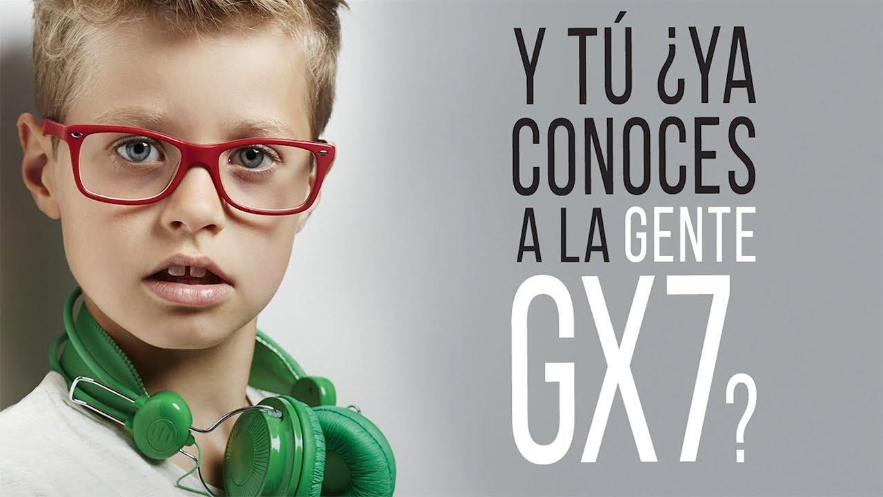 Y TÚ, ¿YA CONOCES A LA GENTE GX7?