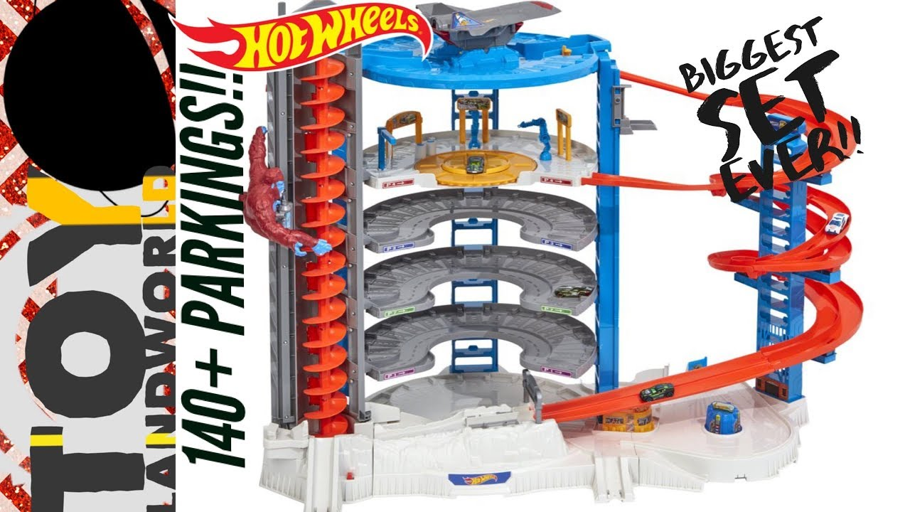 Hot Wheels Super Ultimate Garage Playset Mega City Kids Toys Cars