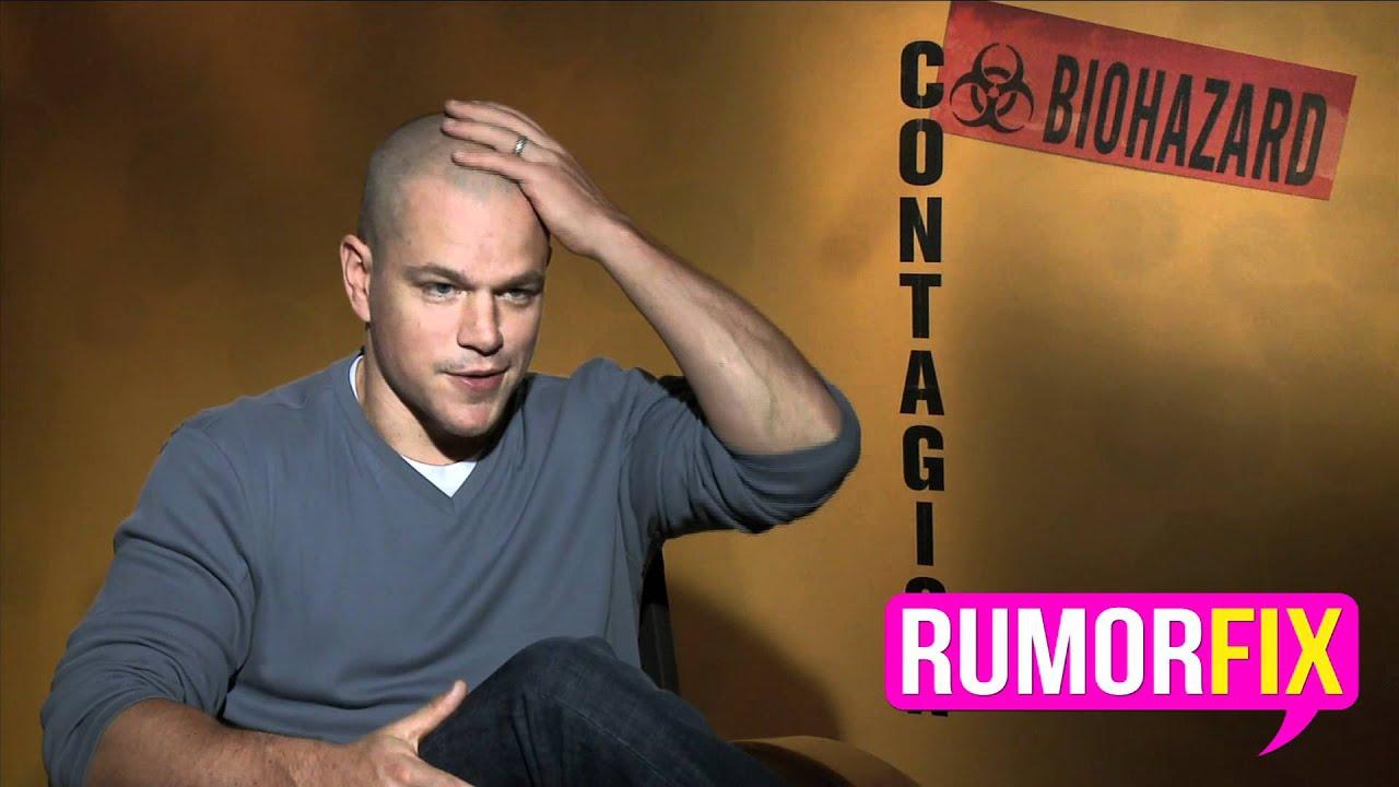 Matt Damon Explains His New Bald Look  YouTube