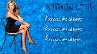 Had Me At Hello By Olivia Holt (Lyrics)