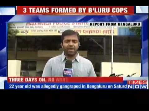 BPO staff gang raped in a moving van in Bangalore