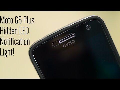 Enable Moto G5 Plus' Hidden LED Notification Light!