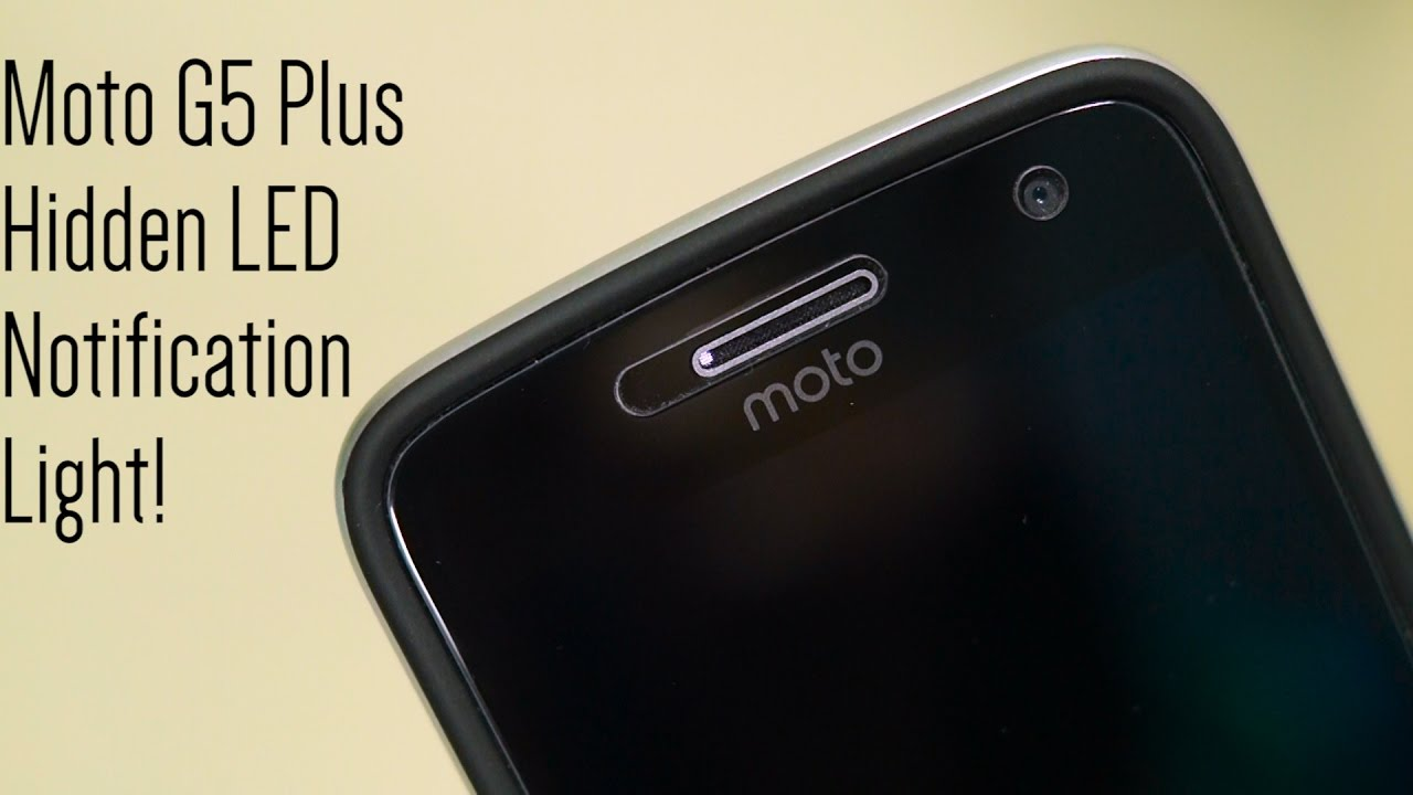 detailed look 32dd7 be05c Enable Moto G5 Plus' Hidden LED Notification Light!