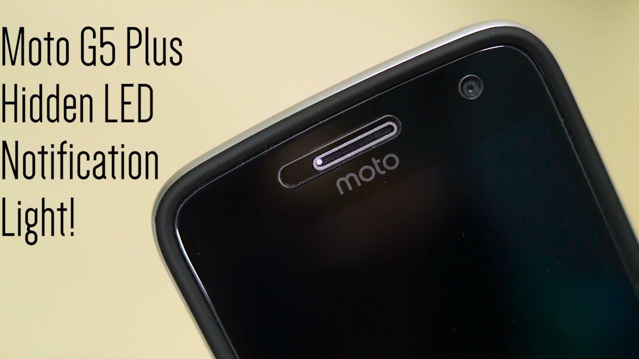 Enable Moto G5 Plus' Hidden LED Notification Light! - YouTube