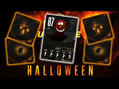HALLOWEEN PACK OPENING | SICK TEAM OF THE WEEK PULL (NHL 18 Pack Opening)