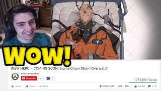 Shroud Reacts to NEW HERO Sigma Origin Story | Overwatch - [NEW HERO – COMING SOON] Sigma!
