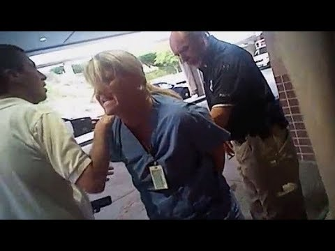 Utah Nurse Police Attacked by Police (FULL Video) Patient was a Cop