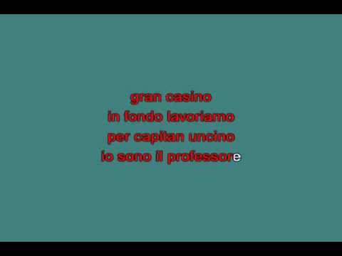 Edoardo Bennato   Il Rock Del Capitan Uncino [karaoke]
