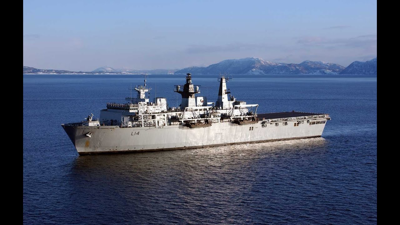 HMS Albion: Rare Access To Mothballed Royal Navy Ship | Forces TV