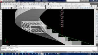 How To Draw A Spiral Stair In Auto Cad 2010 ( ျမန္မာ )
