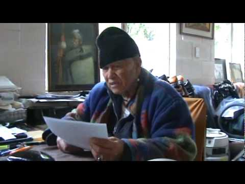 Treaty of Waitangi interview with Rangatira Matiu Tarawa (1)