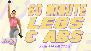 60 Minute Legs and Abs Workout Sydney Cummings