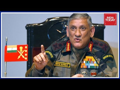 Army Chief Bipin Rawat Gives Strong Warning To Pakistan, Surgical Strike Can Be Repeated