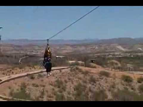 Zip Lining at Out of Africa #2