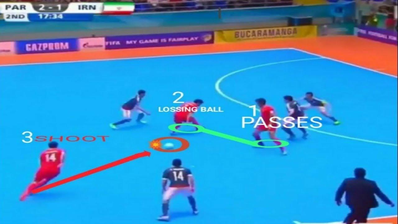 Serangan Kombinasi 3 Pemain Dalam Strategi Futsal Combination