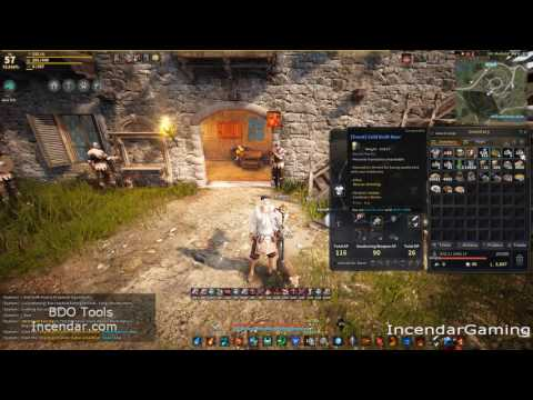 1 Second infinite Cooking NPC Utensil save time silver Black Desert Online BDO