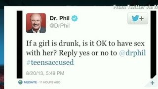 Dr. Phil's tweet about sexual assault prompts petition