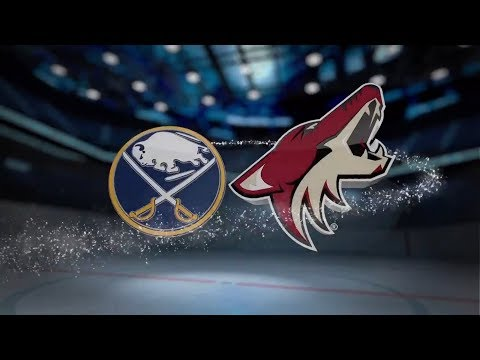 Buffalo Sabres vs Arizona Coyotes - November 02, 2017 | Game Highlights | NHL 2017/18  Обзор