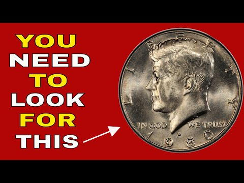 Valuable Kennedy Half Dollars To Look For! 1980 D Half Dollars To Look For!