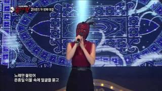 [설특집 미스터리 음악쇼 복면가왕] Hong JinYoung - I tried everything, 홍진영- 별 짓 다해봤는데 20150218