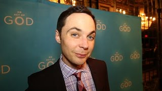 Jim Parsons Celebrates An Act of God