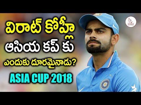 విరాట్  కోహ్లీ  ఆసియ కప్ కు ఎందుకు దూరమైనాడు | Virat Kohli Not  Playing In AsiaCup