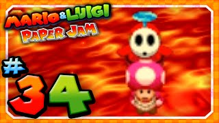 Mario and Luigi: Paper Jam - Part 34: Saving Toadette!
