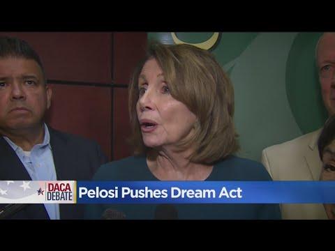 Nancy Pelosi Cites Interruption As Reason For Pushing DACA Legislation