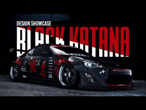 'BLACK KATANA' (Design Showcase) - Need for Speed 2015