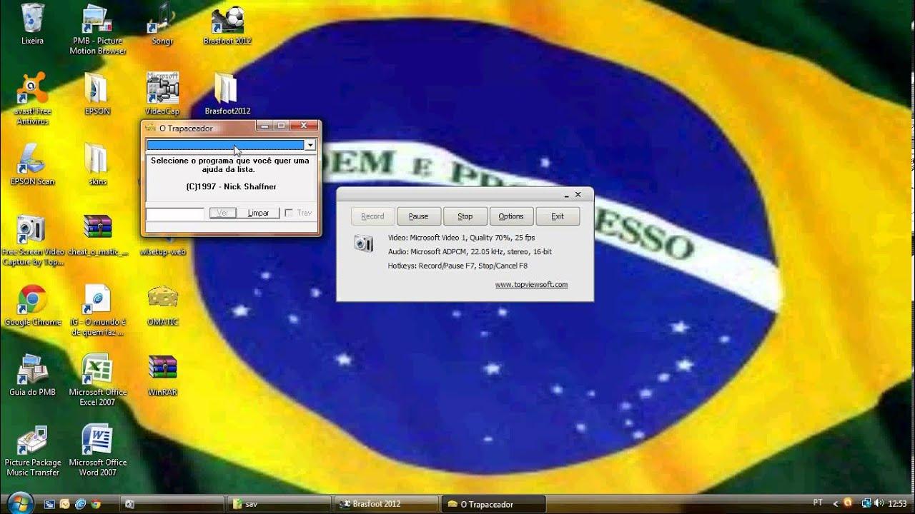 o omatic do brasfoot 2012 gratis