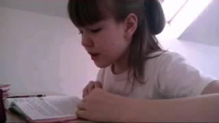 ВЛОГ: уроки///ночевка с сестрой...