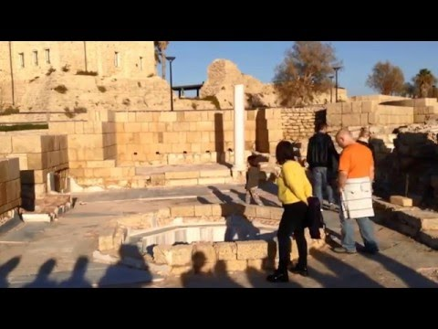 Travel to Israel. Part 17.Caesarea National Park /Путешествие в Израиль. Часть 17. Кейсария