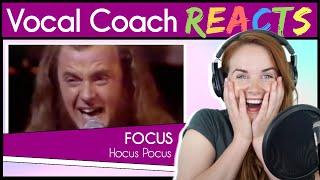Vocal Coach reacts to Focus - Hocus Pocus (Thijs van Leer Live '73)