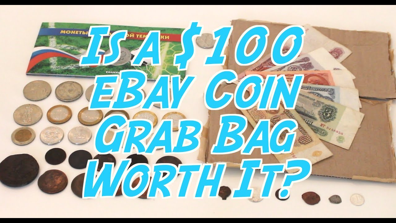 Guy Buys $100 eBay Coin Grab Bag! Should You Too? 3