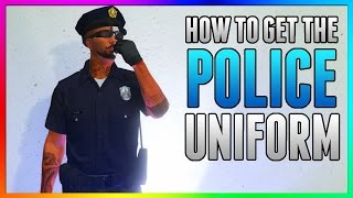 GTA 5 Online *BRAND NEW* POLICE UNIFORM GLITCH! How To Get The Cop Outfit 1.45 (NEW GTA 5 Glitches)