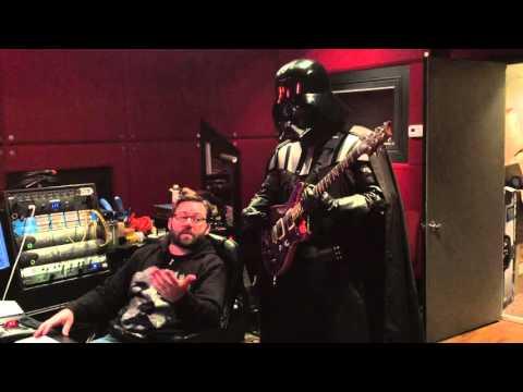 Galactic Empire Studio Update - Darth Vader Tracks Guitar