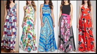 Stunning Maxi Dress Designs | maxi dress outfit ideas | Top Beautiful Kurta/Kurti Designs