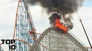 Top 10 Scary Accidents On A Rollercoaster You Won't Believe