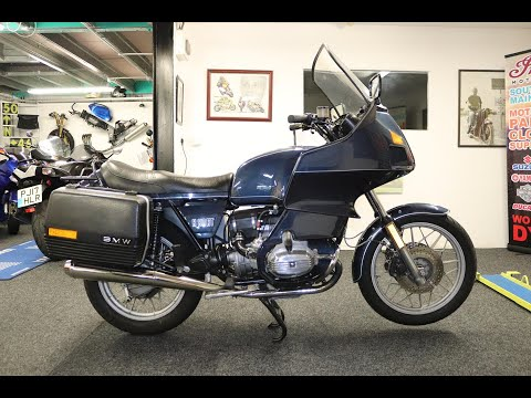 1984 BMW R80RT. Good Condition, Low Mileage, Rare Bike
