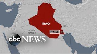 Rocket explodes near oil facility in Iraq