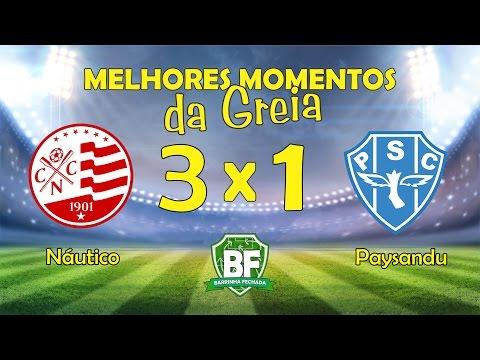 Náutico 3 x 1 Paysandu | Brasileirão B | 2016