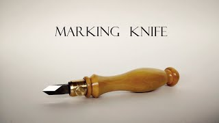 017 Marking knife for woodworking