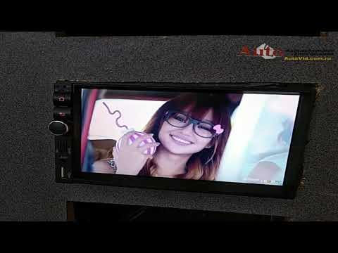 Обзор 2DIN Андроид автомагнитолы Blackview A72 с навигацией, Интернет, включение